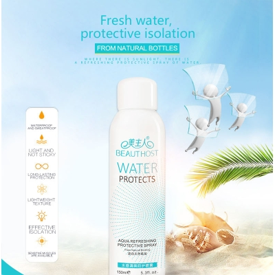 Fresh Water Protection Face Toner Spray Best Selling Popular Ladies Deodorant Face Body Spray