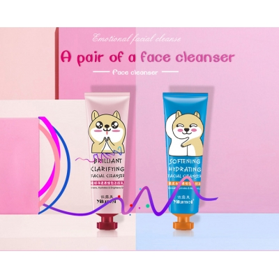 YILUMEI Softening & Hydrating Facial Cleanser/Beauty Whitening Facial Cleanser