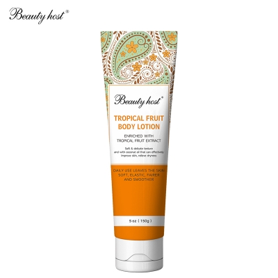 Beauty Host tropical fruit body lotion